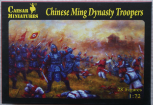 Caesar Miniatures 1/72 CMH032 Chinese Ming Dynasty Army (17th Century)